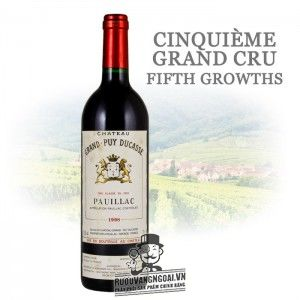Vang Pháp CHATEAU GRAND PUY DUCASSE PAUILLAC
