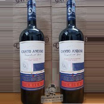 Vang Chile CANTO ANDINO Reserve